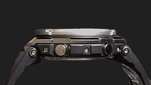 カシオGショック Gスチール ソーラー電波腕時計 CASIO G-SHOCK G-STEEL GST-W110-1AJF