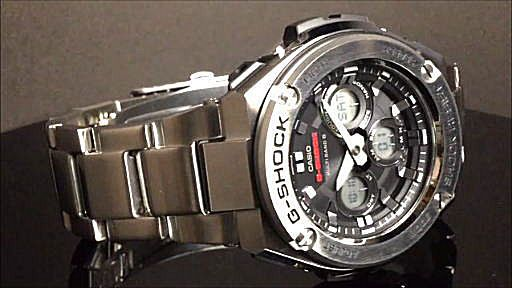 カシオGショックGスチール casio G-SHOCK G-STEEL GST-W310D-1AJF