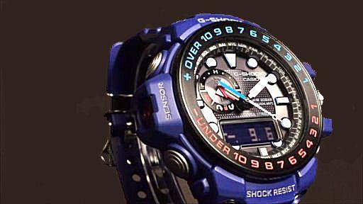 カシオGショック ガルフマスター ソーラー電波腕時計 CASIO G-SHOCK GULFMASTER GWN-1000H-2AJF