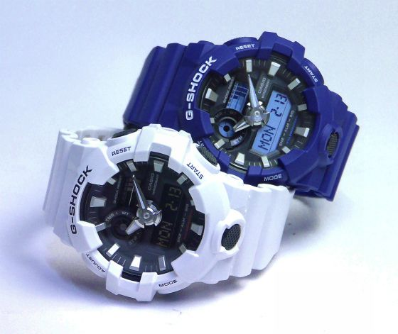 CASIO G-SHOCK GA-700 2017年2月新製品