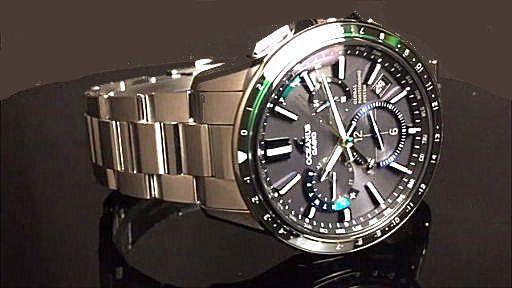 カシオ オシアナス GPSハイブリッド電波ソーラー腕時計 CASIO OCEANUS  OCW-G1100-1A2JF