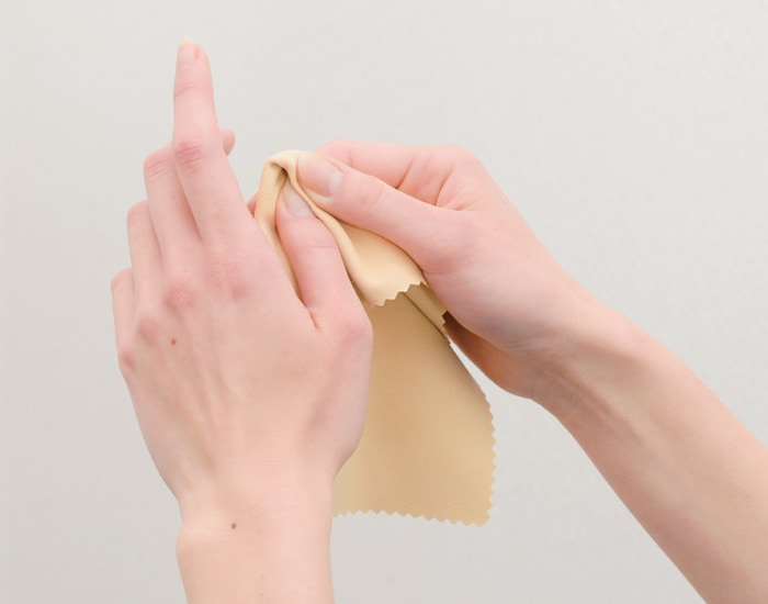 キョンセームのハンドケア使用イメージ画像