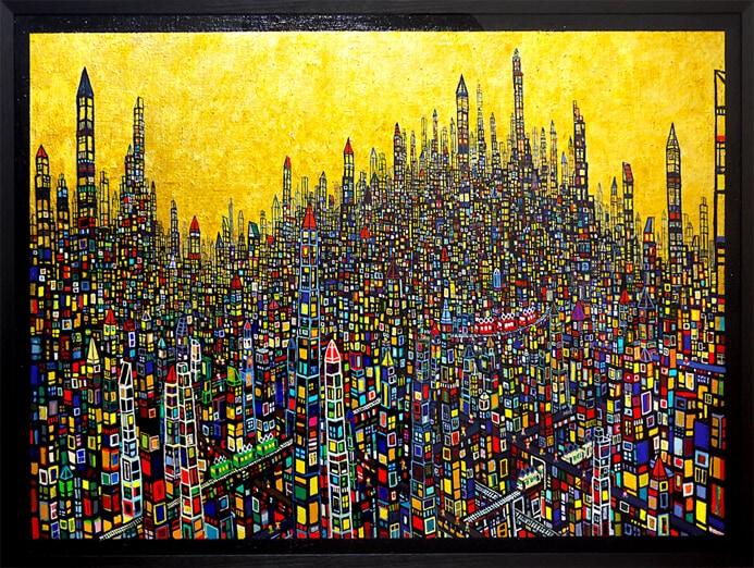 大谷太郎「ゴールドタウン」の画像