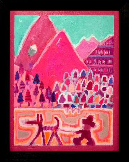 大谷太郎「Spring mountain」の画像