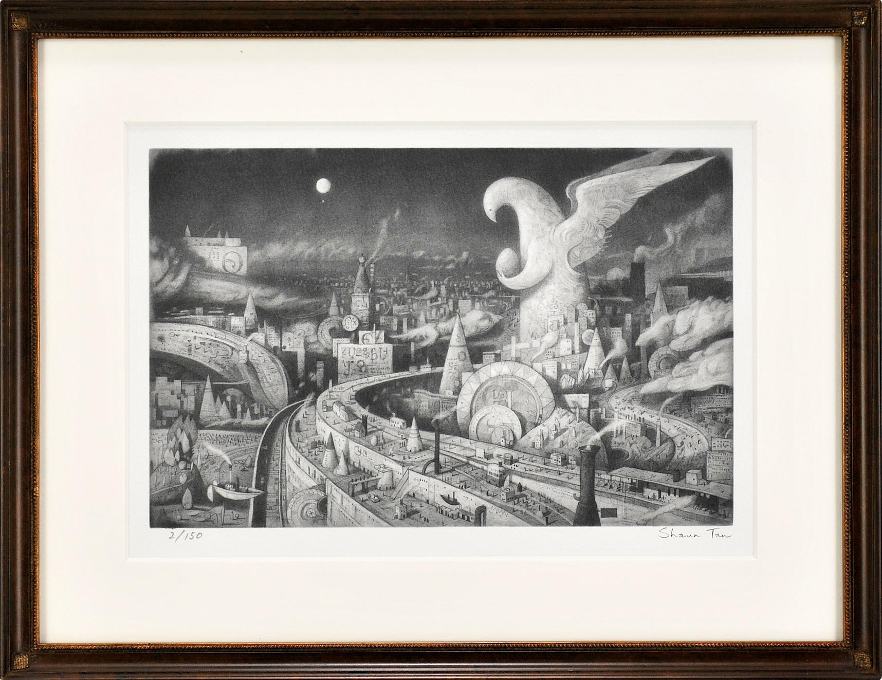 ショーン・タン 版画「フライト」の画像