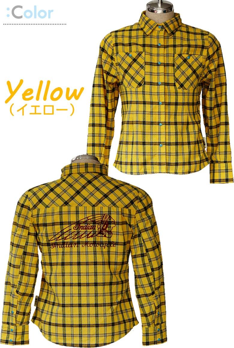 レディースチェックシャツジャケット