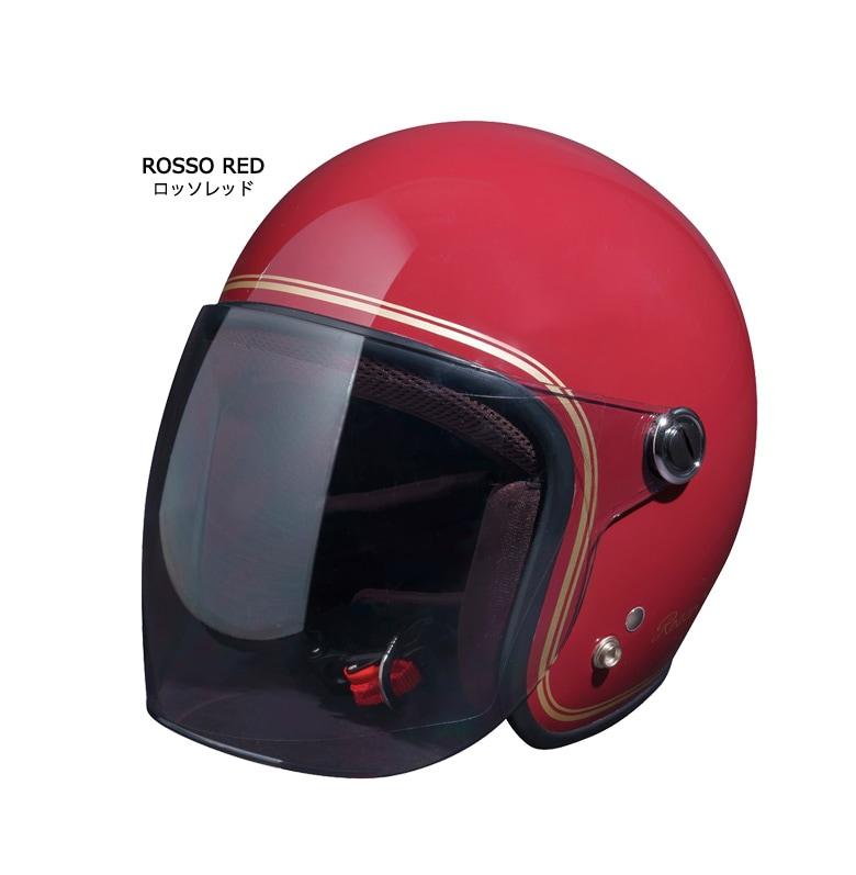 人気のROSSO StyleLab(ロッソスタイルラボ)「ROSSOジェットヘルメットCLASSIC」