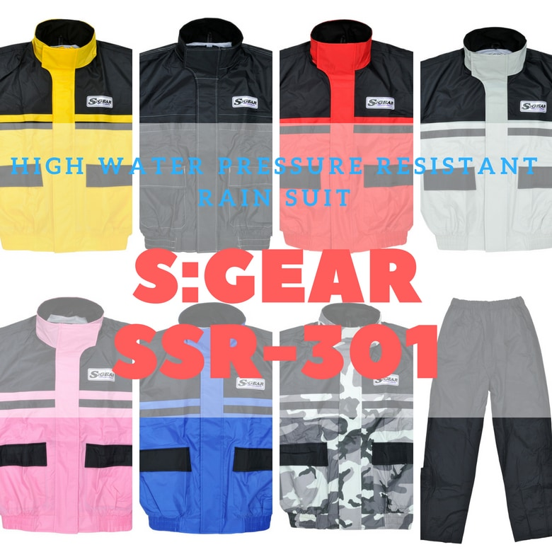 【SALE】【SKY(エスケーワイ)】S:GEAR 高耐水圧レインスーツ / SSR-301 レディース バイク レイン