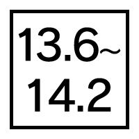 着色直径13.6〜14.2mmカラコン