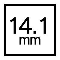 14.1mmカラコン