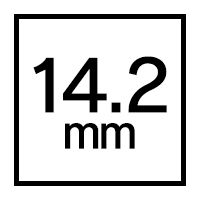 14.2mmカラコン