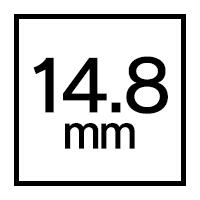 14.8mmカラコン