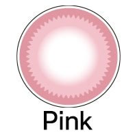 ピンクカラコン