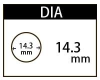 14.3mmカラコン