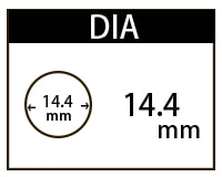 14.4mmカラコン