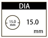 15.0mmカラコン