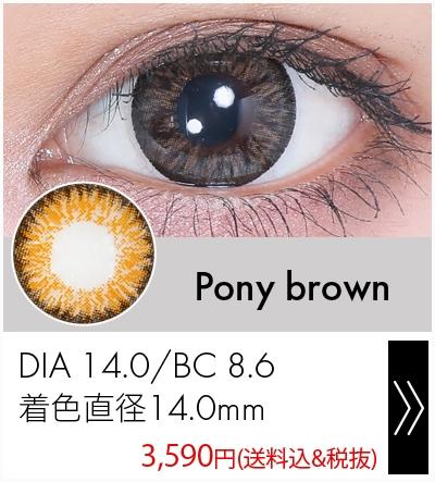 ポニーブラウン14.2mm