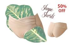 下腹部を抑えるLaulaxの純日本製シェイプショーツ