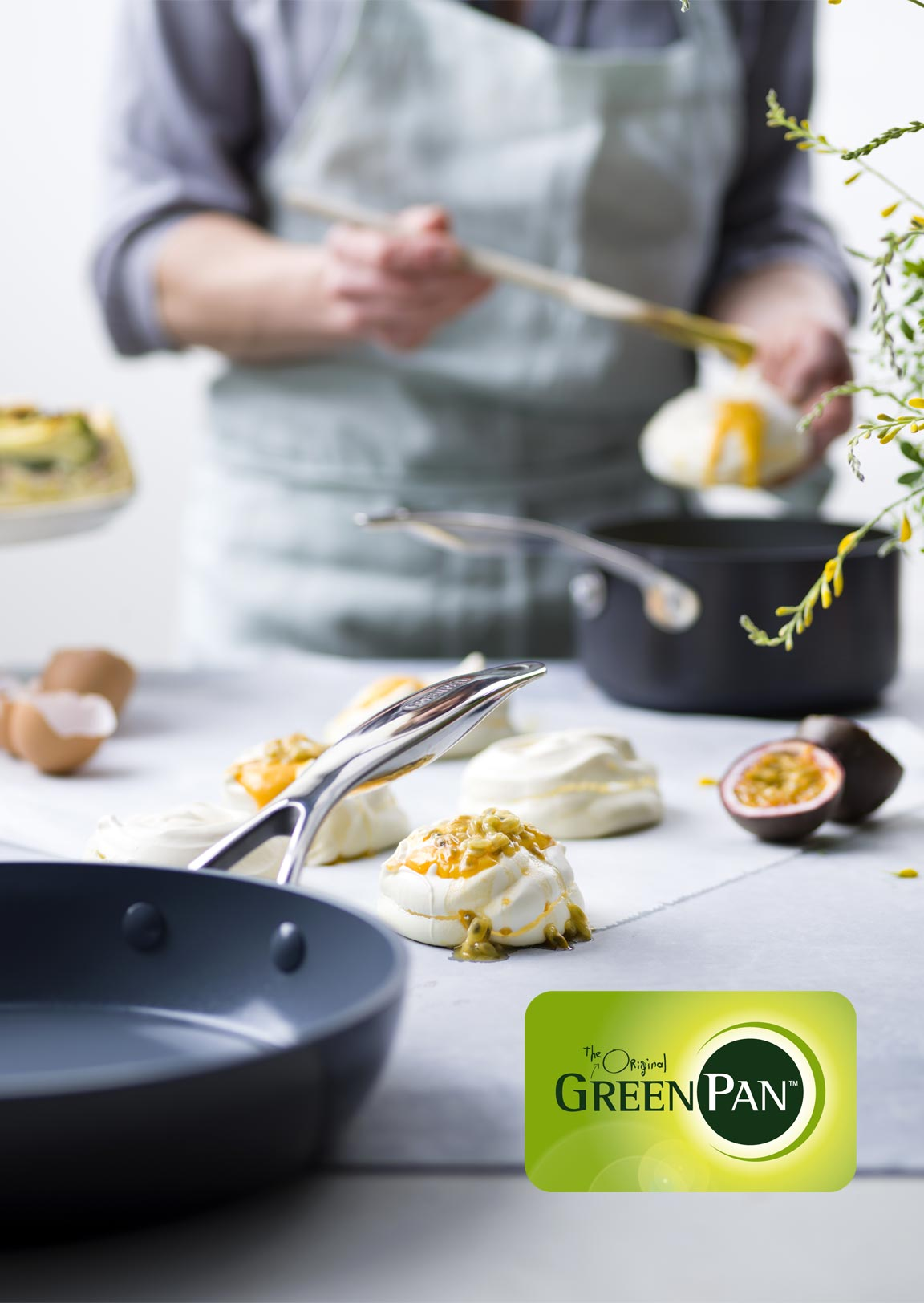 ベルギーのエコクックウェア グリーンパン greenpan