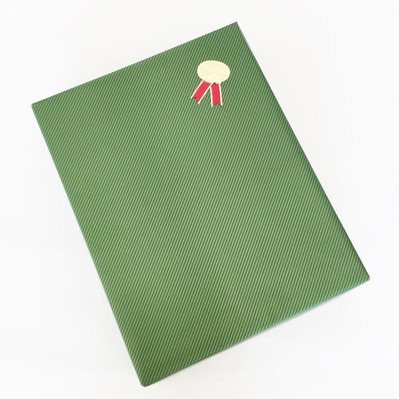 グリーンストライプ包装イメージ斜め