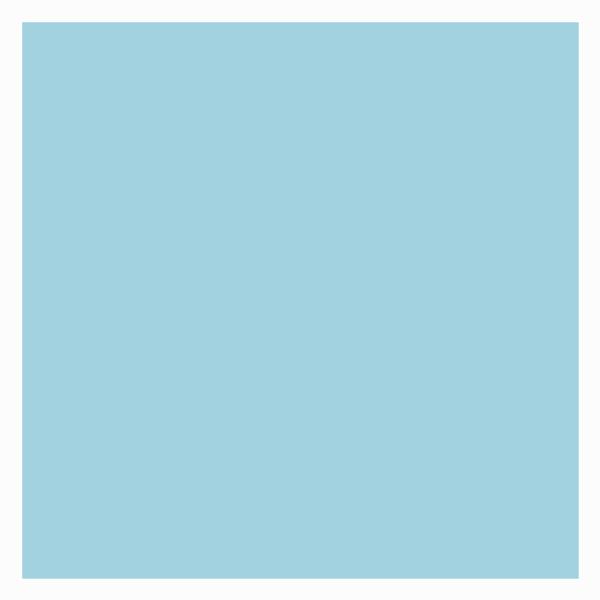 ベビーブルーのギフト包装紙