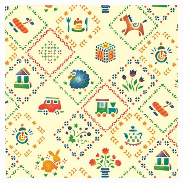 ステンシルハウス包装紙のイメージ