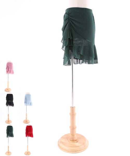 ラメスカート【ベリーダンス 衣装 ヒップスカーフ 】