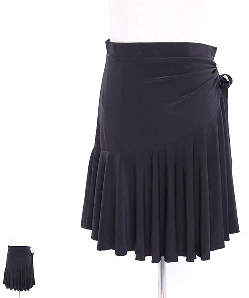 フレアオーバースカート【社交ダンス 衣装 スカート ロング】