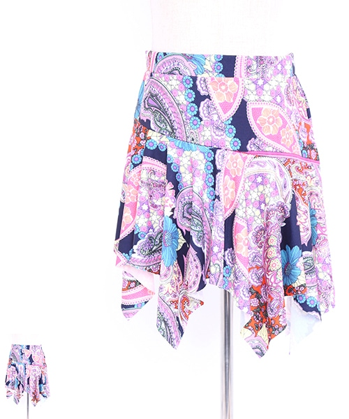 ギザギザカットオーバー【ベリーダンス 衣装 スカート 】
