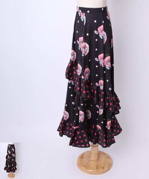 ★40%OFF★フラメンコ衣装 ファルダ【フラメンコ 衣装 スカート 】