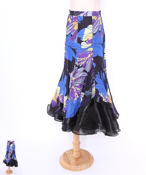 社交ダンス モダンスカート 【社交ダンス 衣装 スカート 】