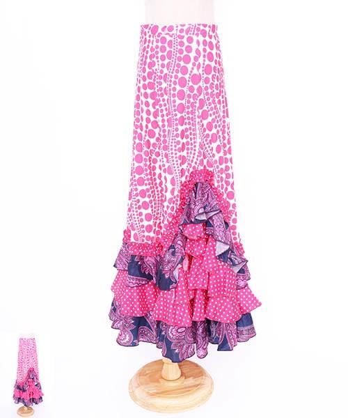 ◆セール30%オフ◆フラメンコ衣装 ファルダー【フラメンコ 衣装 スカート 】