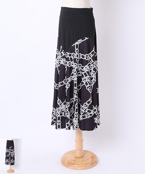 社交ダンス ロングスカート【社交 衣装 スカート】