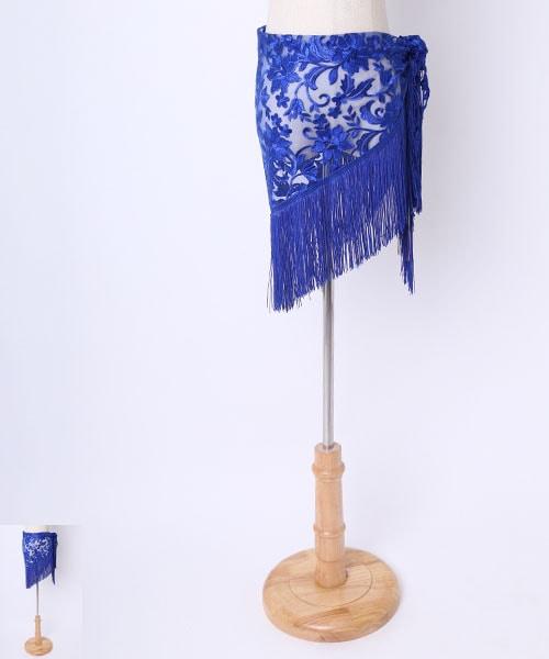 ◇金土日セール10%オフ 2019/05/19 23:59まで◇フラワーレース ヒップスカーフ【ベリーダンス 衣装 ヒップスカーフ 】