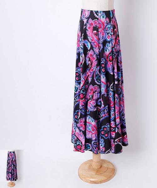 ◆40%OFF◆ペイズリーAライン デザイン ファルダ 【フラメンコ 衣装 スカート】