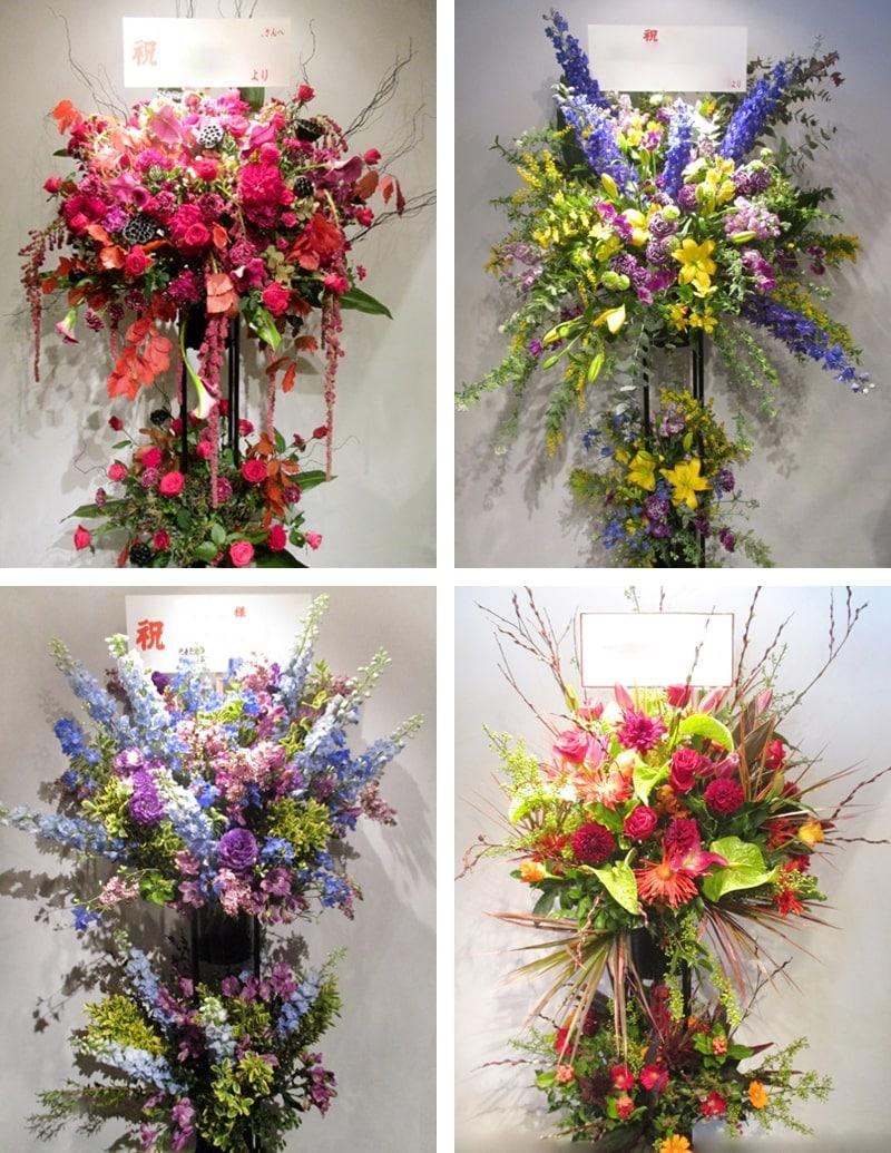スタンド花Lサイズの値段とサイズ
