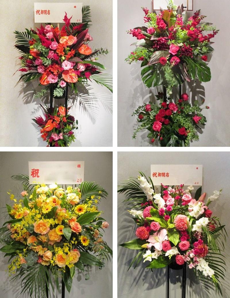 スタンド花Mサイズの値段とサイズ