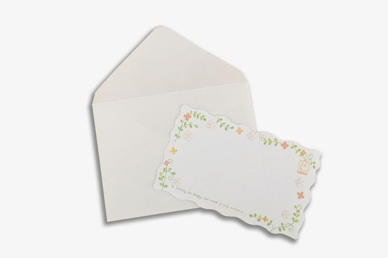 メッセージカード(ミニ封筒)サービス