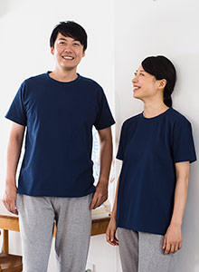クルーネックTシャツ(ユニセックス)