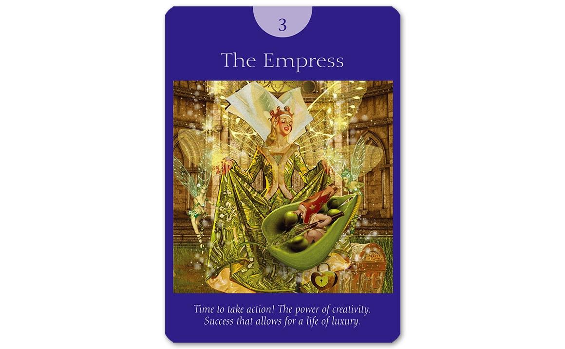 フェアリータロットカード The Empress