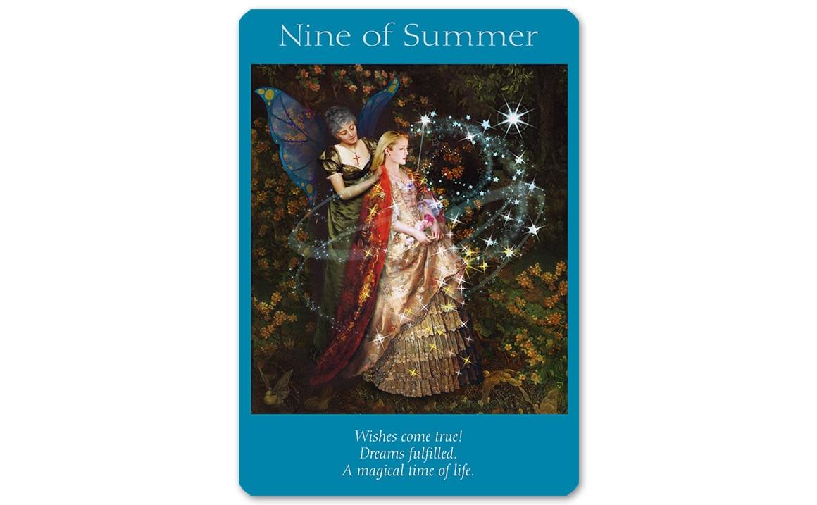 フェアリータロットカード Nine of Summer