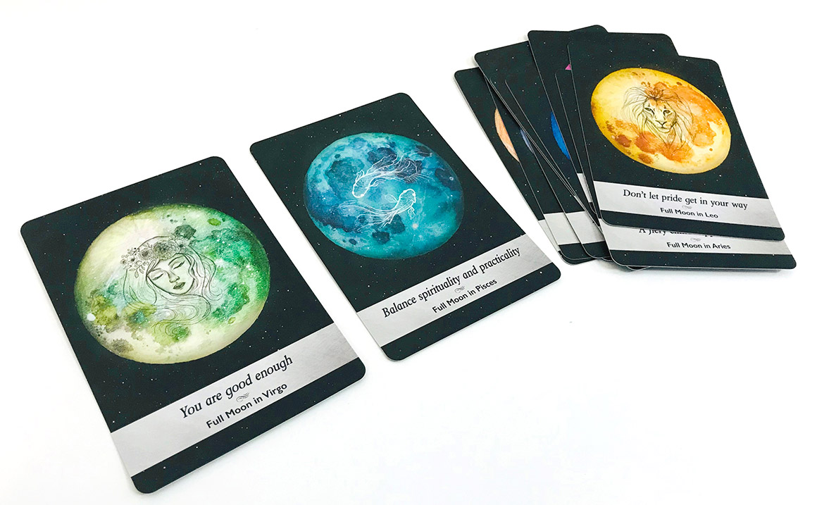 ムーンオロジーオラクルカード 「満月のカード」のグループ