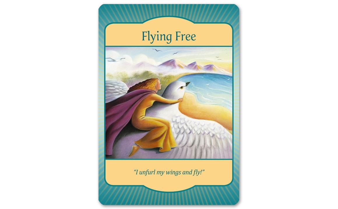 ゲートウェイオラクルカード Flying Free