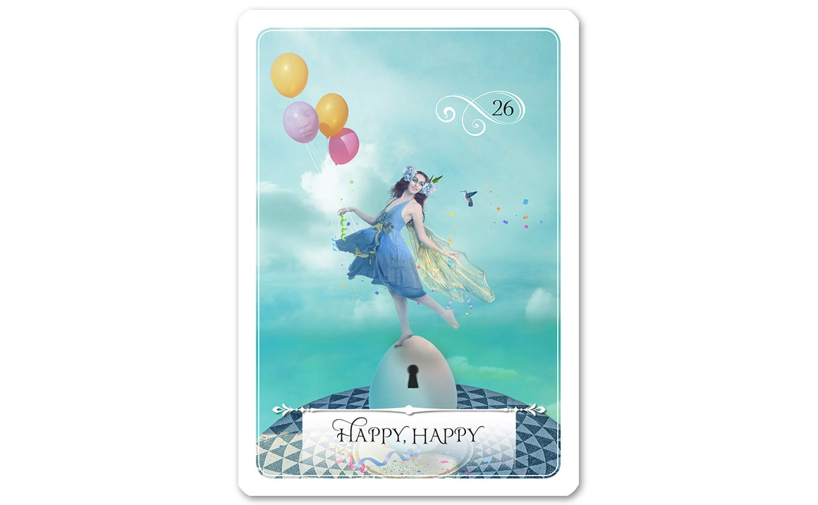 ウィズダムオラクルカード Happy, Happy(幸福をかみしめる)