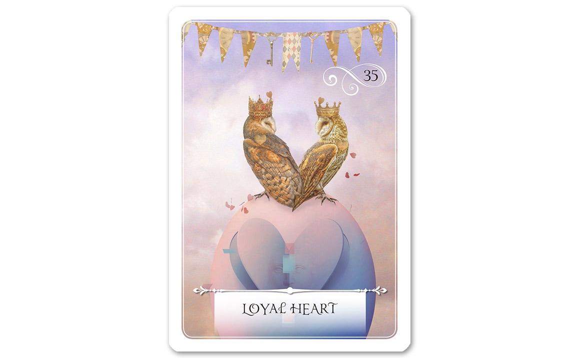 ウィズダムオラクルカード Loyal Heart(誠実な心)