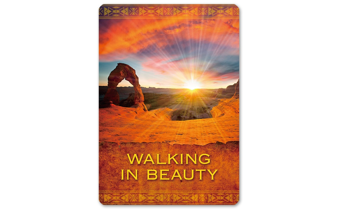 ネイティブスピリットオラクルカード WALKING IN BEAUTY