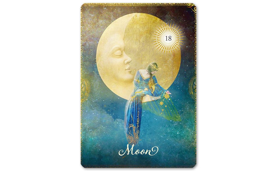 グッドタロットオラクルカード 18:Moon