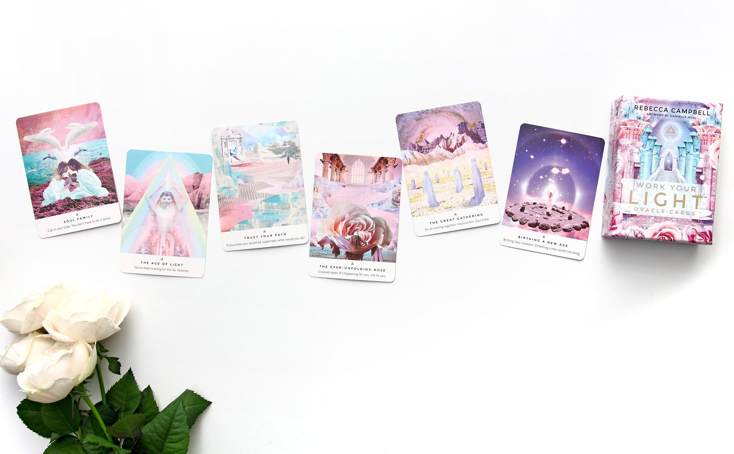 ワークユアライトオラクルカード