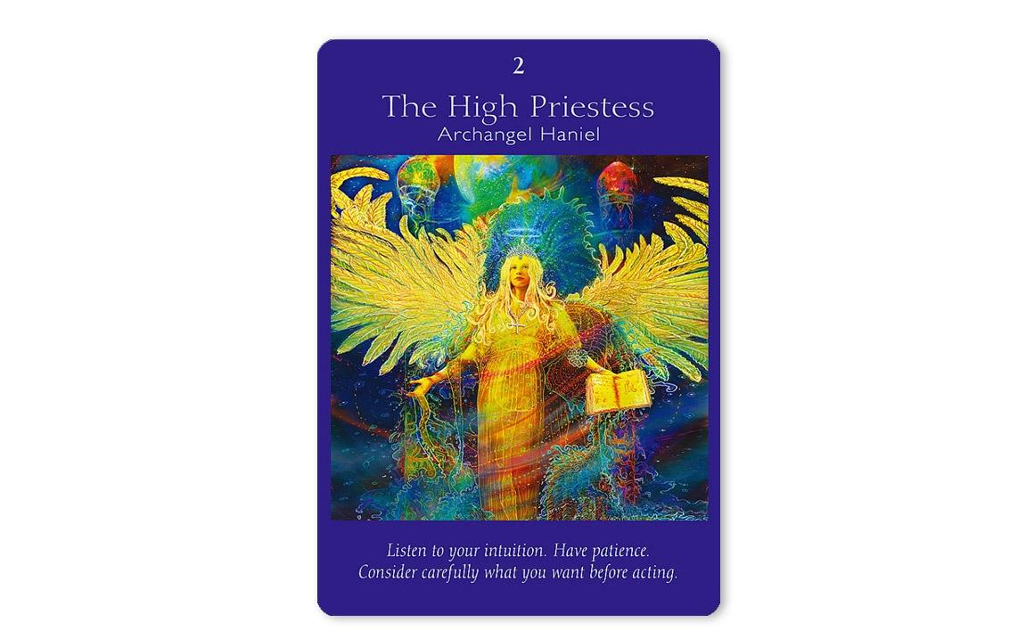 エンジェルタロットカード The High Priestess