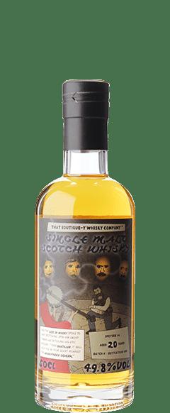 ブティックウイスキー スペイサイド #4 バッチ4